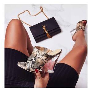 6ca42b11377 Shoes - Snake Print wedge